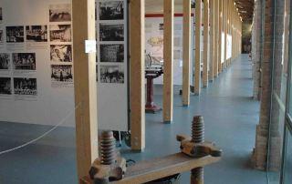 Langhirano, unterno del Museo del Prosciutto