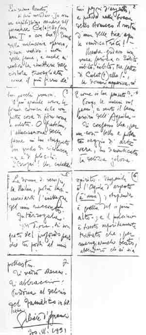 """La lettera di Gabriele d'Annunzio a Renato Brozzi del 30 giugno 1891 esalta la """"delizia golosa"""" del Culatello"""