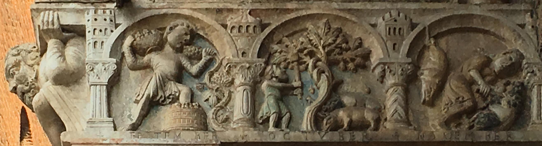 Protiro Di San Zeno A Verona